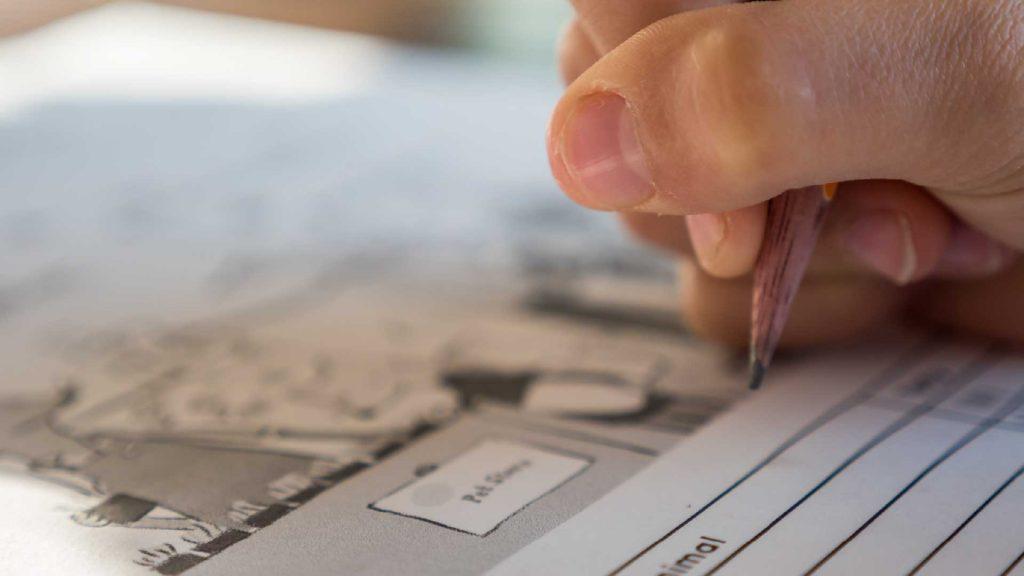 Jugendfreizeiteinrichtung CHiP 77 - Hausaufgabenhilfe Block Heft Schreiben