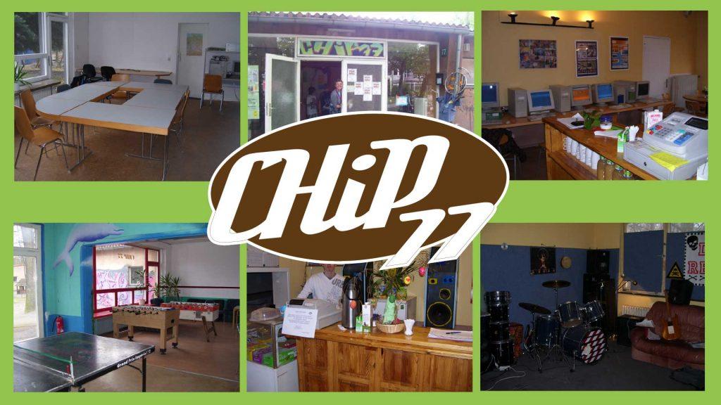 Jugendfreizeiteinrichtung CHiP 77 Sozial-kulturelle Netzwerke casa e. V. Räumlichkeiten